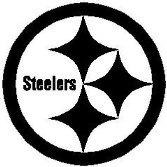 Pittsburgh Steelers Logo Car Decal
