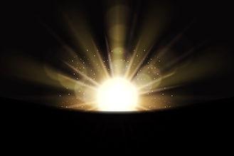 funkelnder-weisser-lichteffekt-des-sonne