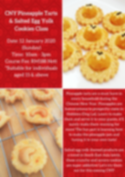 CNY Pineapple Tarts & Salted Egg Yolk Co