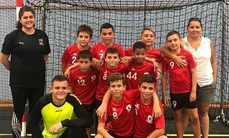 Gardanne Hanball, équipe U13 masculins, U13M