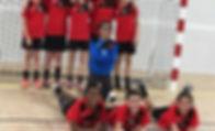 Gardanne Hanball, équipe U13 féminines, U13F
