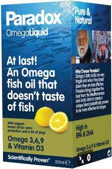 Paradox Omega Liquid (Omega Oil Supplement) 225ml