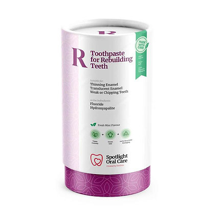 Spotlight Toothpaste for Rebuilding Teeth