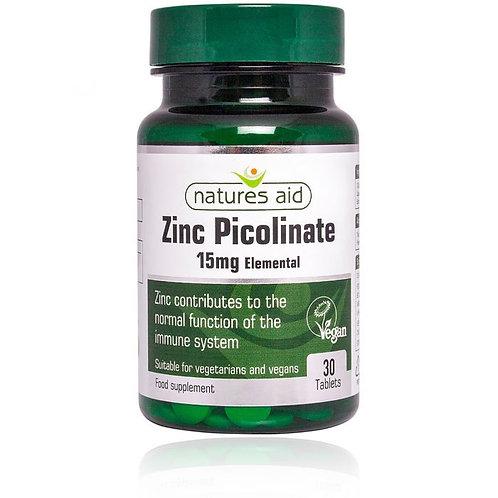 Natures Aid Zinc Picolinate