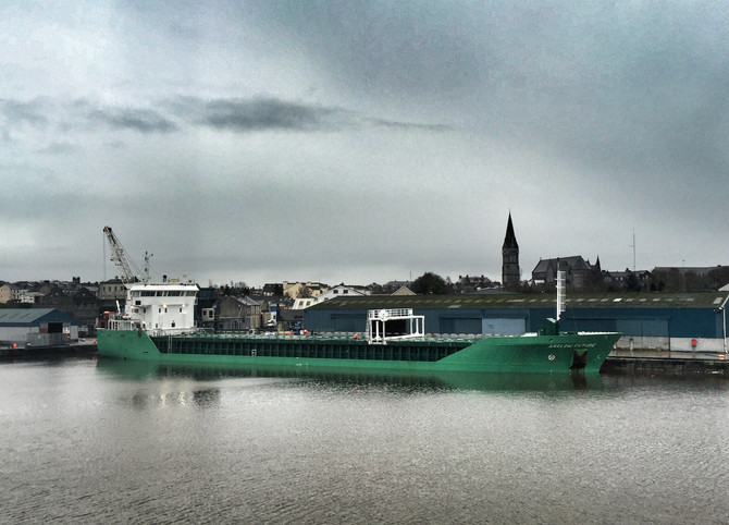 MV Arklow Future Loaded & Ready For Sea