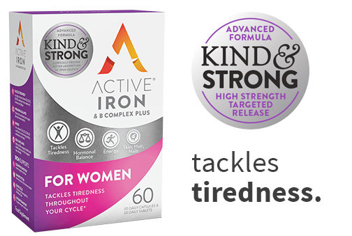 Active Iron & B Complex Plus for Women