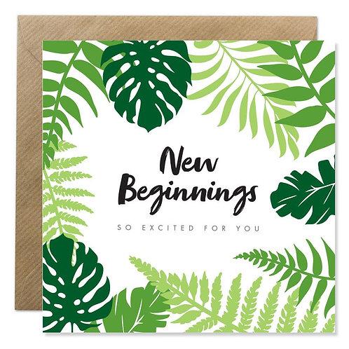 Card - NEW BEGINNINGS
