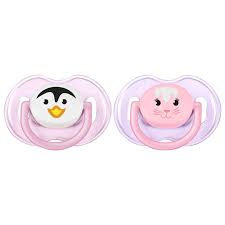 Philips Avent Animal Truman Classic Soother 0-6m 2 Pack