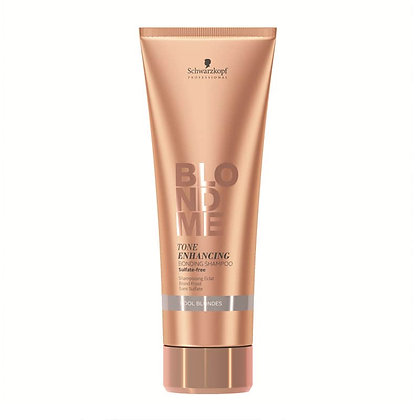 Schwarzkopf Professional BlondMe Tone Enhancing Bonding Shampoo - Cool Blonde