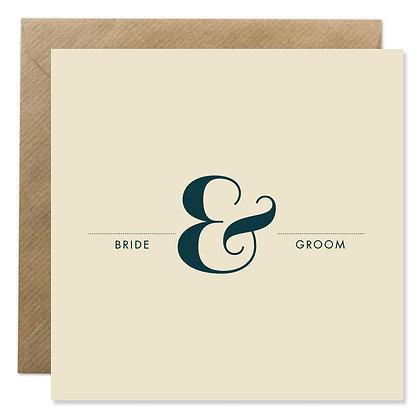 Card -  BRIDE & GROOM