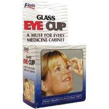 Flents Glass Eye Wash Cup