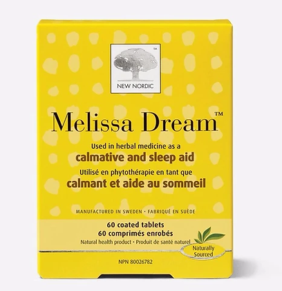 Melissa Dream Calmative and Sleep Aid 40 tab