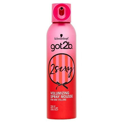 Schwarzkopf got2b 2 Sexy Volumizing Mousse 250ml