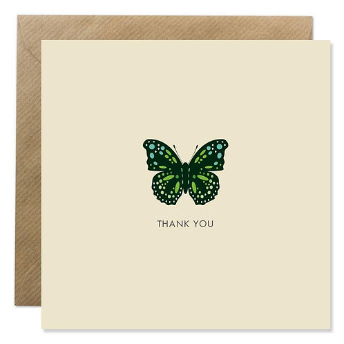 Card -   THANK YOU BUTTERFLY
