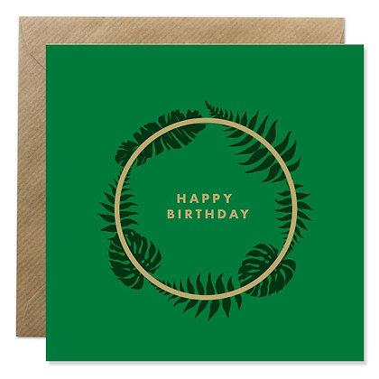 Card - BIRTHDAY BOTANICAL
