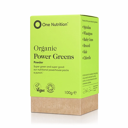 One Nutrition® Power Greens -100 Capsules