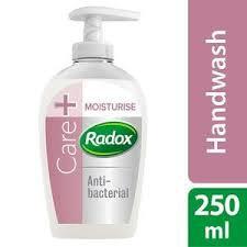 RADOX CARE + MOISTURISE ANTIBACTERIAL HANDWASH 250ML