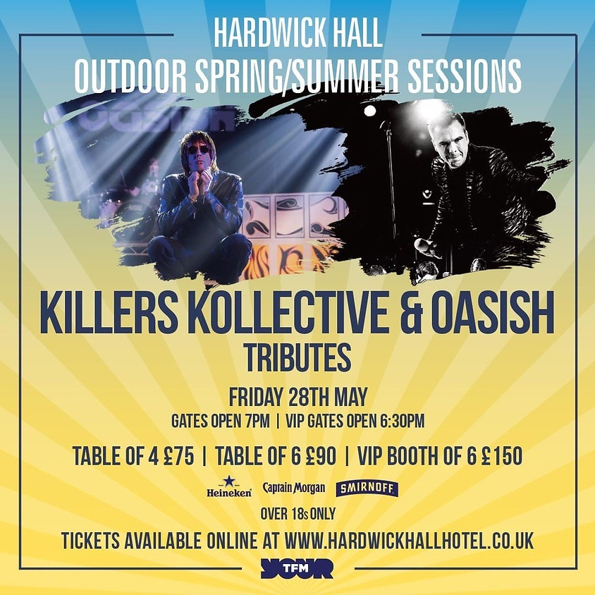 Killers and Oasis Tributes Live