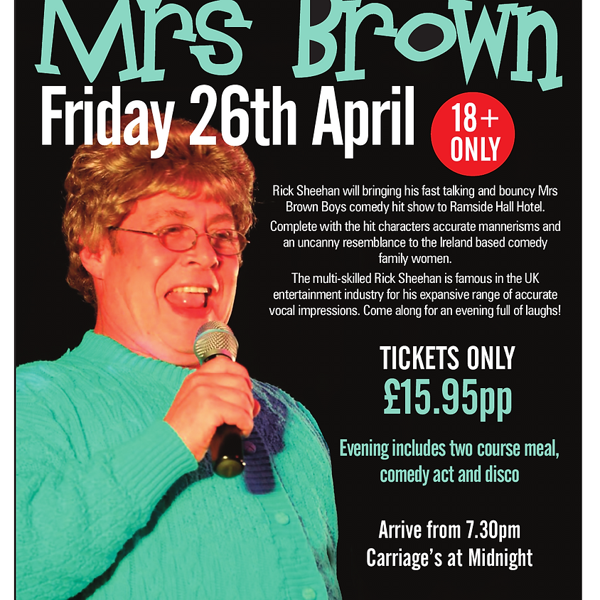 The Other Mrs Brown Comedy Night