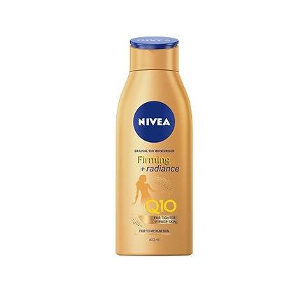 Nivea Q10 Firming & Radiance Gradual Tan Moisturiser