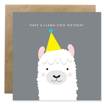 Card - HAVE A LLAMA-ZING BIRTHDAY