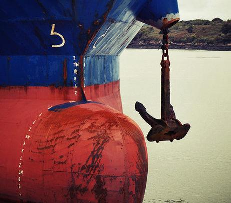 foynes ships bow