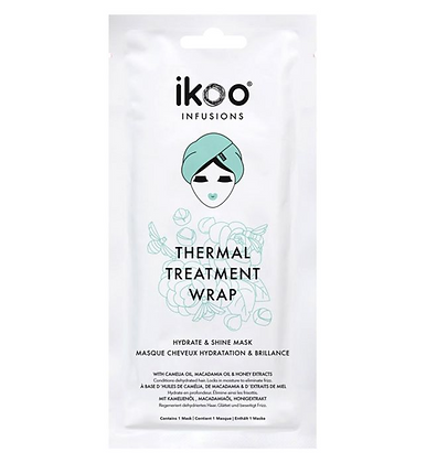 IKOO INFUSIONS Thermal Treatment Wrap Hydrate and Shine