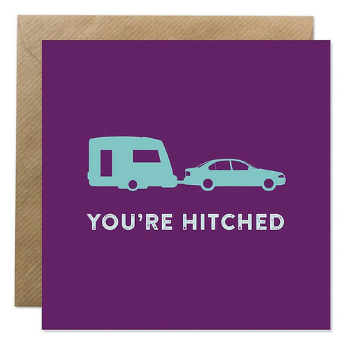 Card -  YOU'RE HITCHED