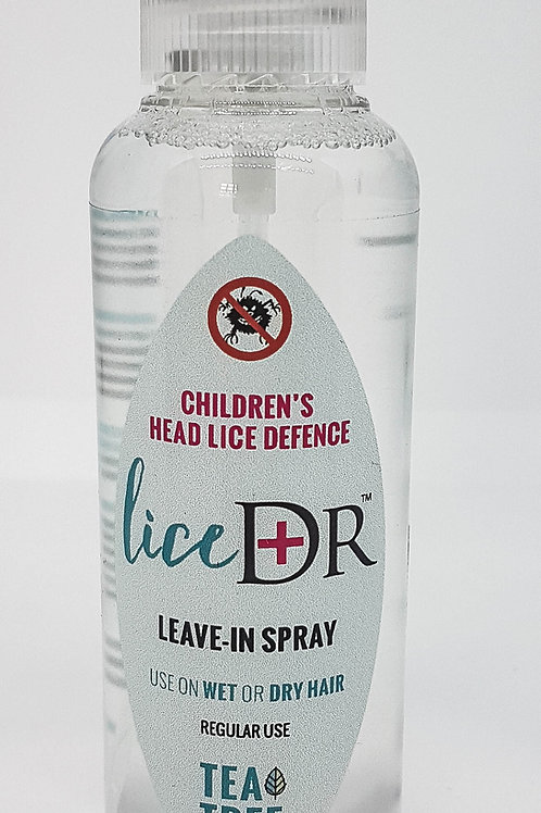 Lice Dr Leave in Spray for Head Lice Defence