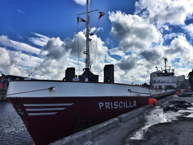 MV Priscilla @ Limerick