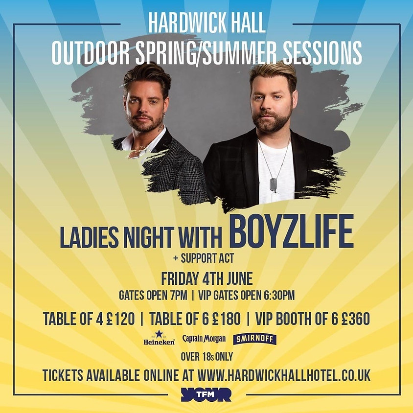 Ladies Night with Boyzlife