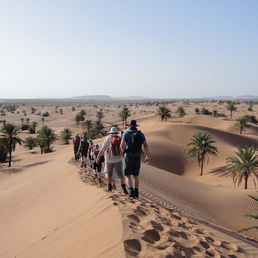 Angel Trust Sahara Trek Challenge Information Night