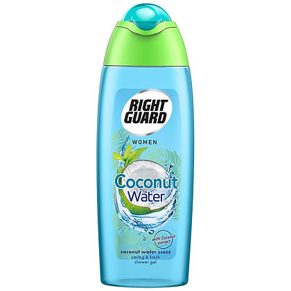 Right Guard Shower Gel 250ml - Coconut Water