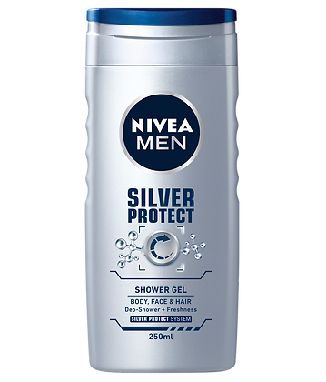 NIVEA SILVER PROTECT SHOWER GEL 250.00 ML