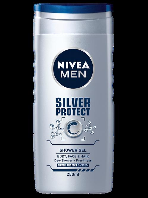 NIVEA SILVER PROTECT SHOWER GEL 250.00 ML