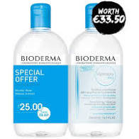 Bioderma  Hydrabio H2O Micelle Solution - Special Offer Duo 2 X 500ml