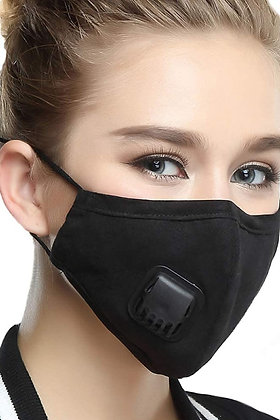 4 Layer Reusable Washable Mask with 2 Filters
