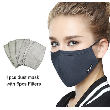 PM 2.5 Four Replacement Filters for Mask