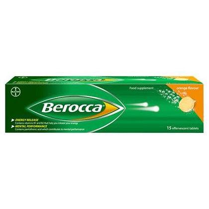 Berocca Performance Effervescent Tablets 15 -Orange