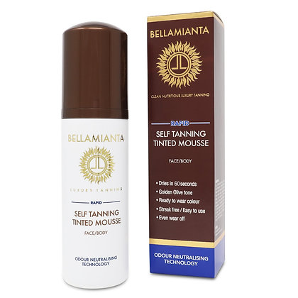 BELLAMAINTIA SELF TANNING TINTED MOUSSE