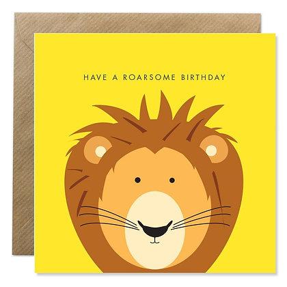 Card - ROARSOME BIRTHDAY