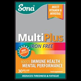 Sona MULTIPLUS CAPSULES Iron Free