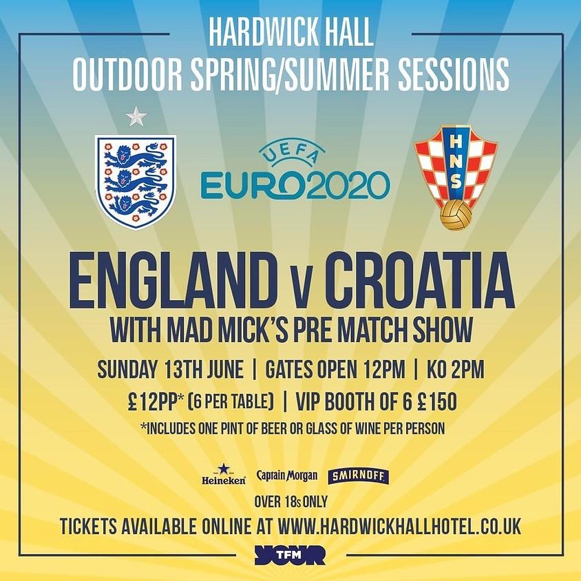 UEFA Euro 2020 - England vs Croatia