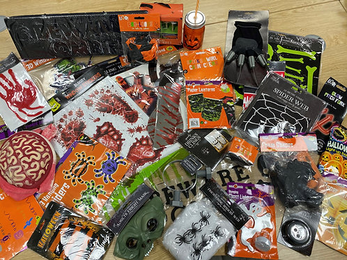 Bundle of 30+ Halloween Decorations