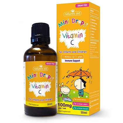 Vitamin C 100mg Mini Drops