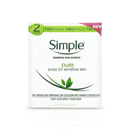 Simple Pure Soap Pack of 2