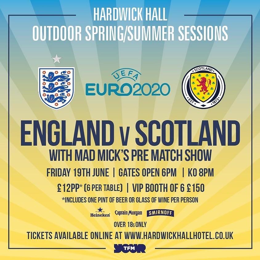 UEFA Euro 2020 - England vs Scotland