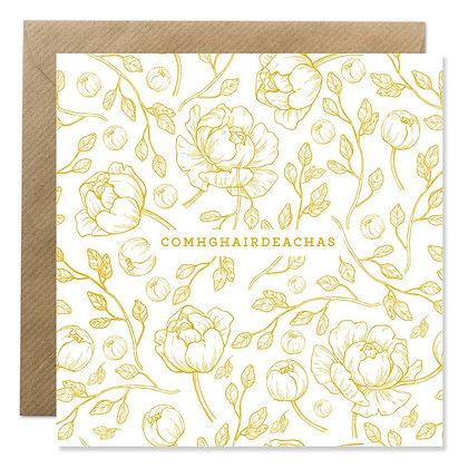 Card - COMHGHAIRDEACHAS