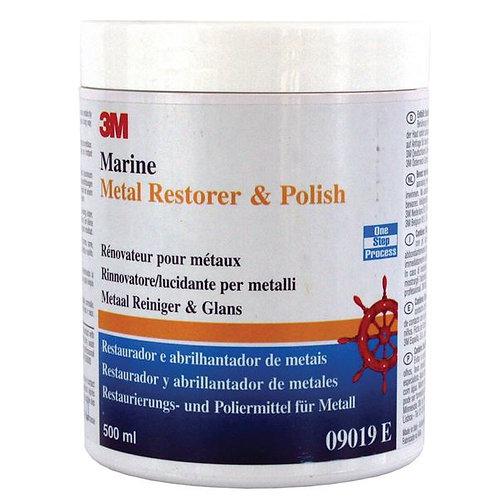 3M MARINE GRADE METAL RESTORER & POLISH 09019