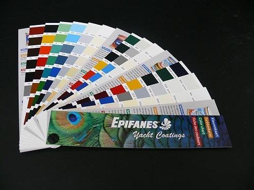 Epifanes Colour Chart